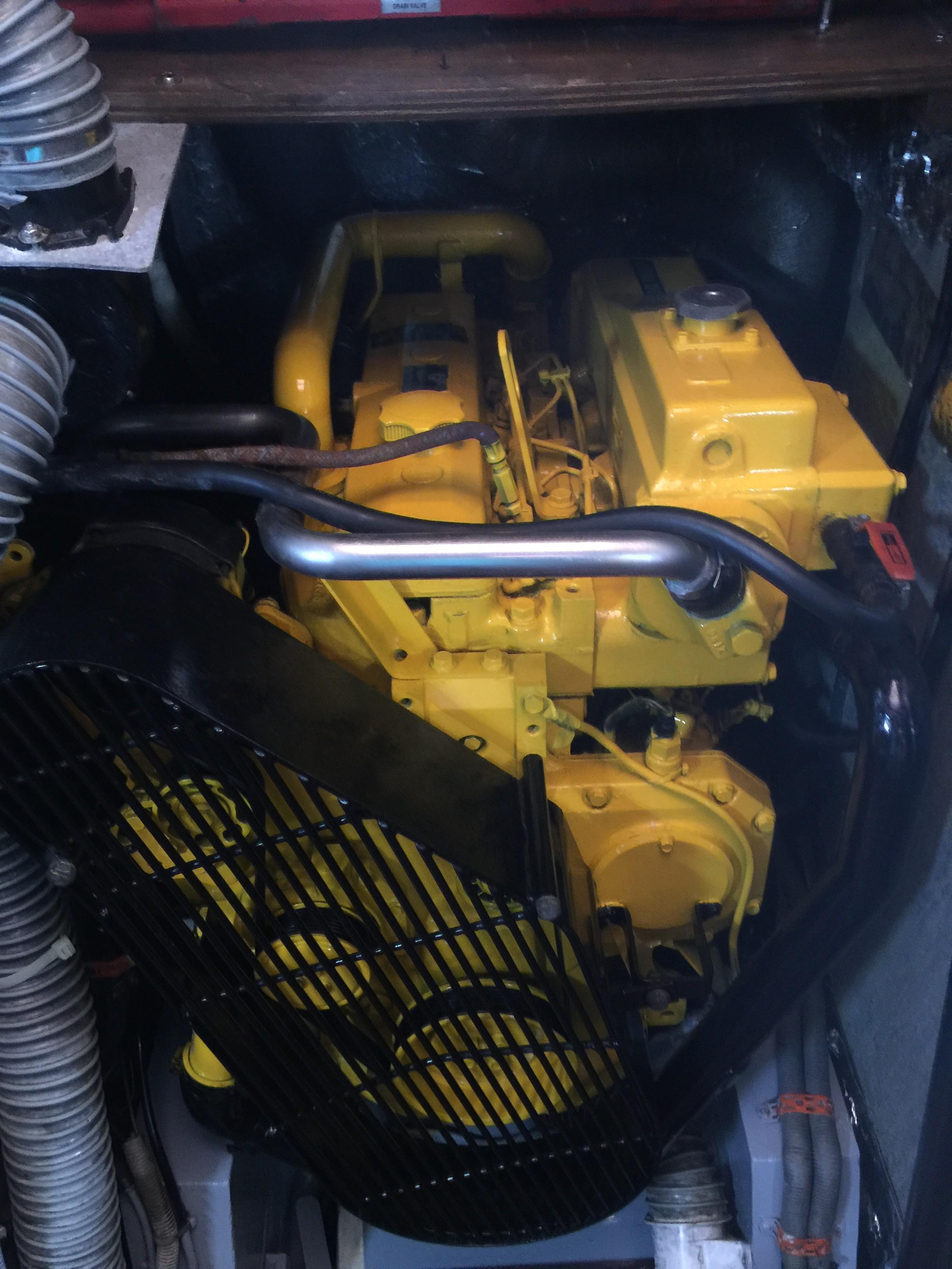Cheoy Lee 55 -- John Deere Engine
