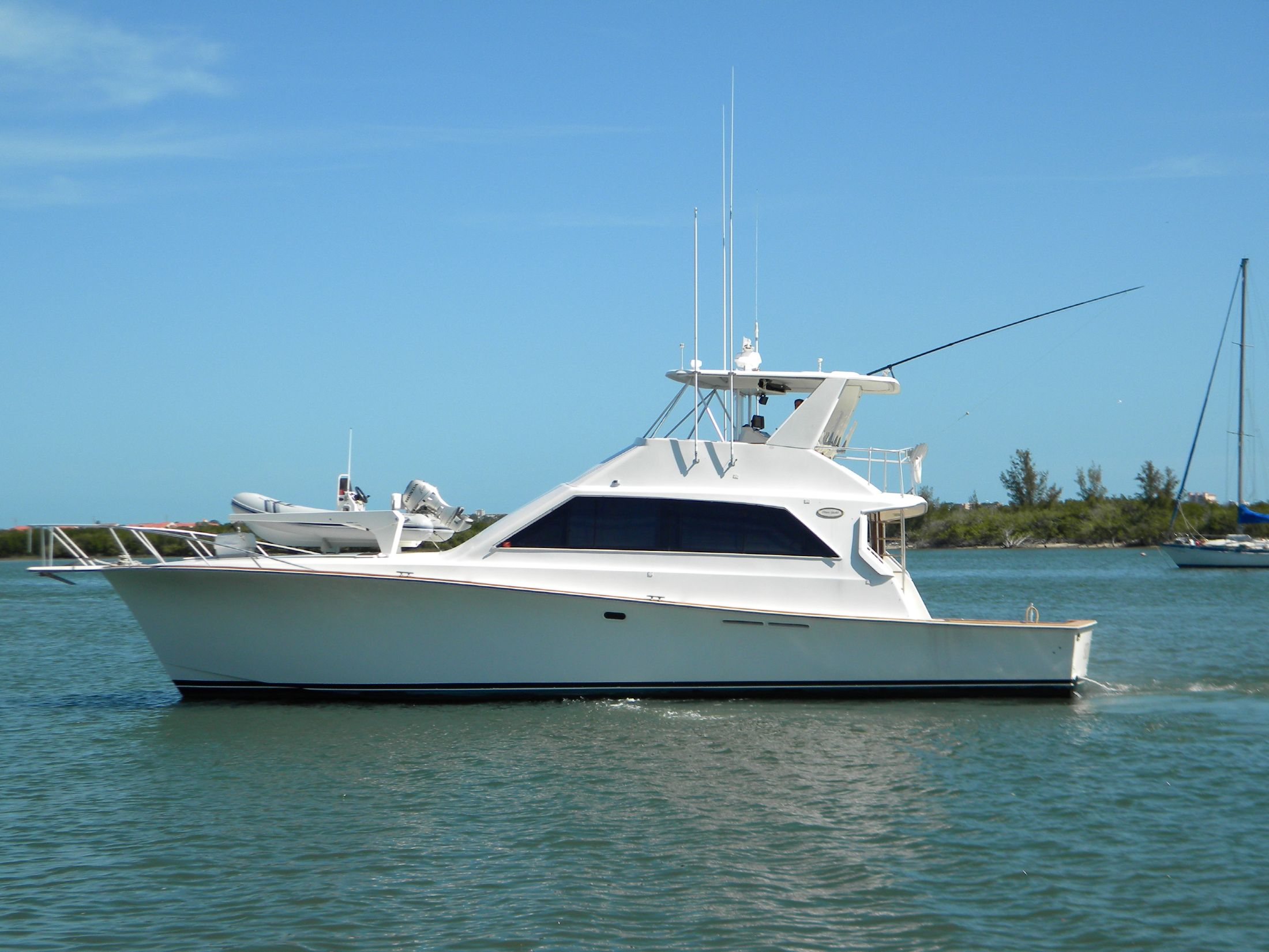 58 ocean yachts 1990 anonymous for sale in daytona beach for Ocean yachts 48 motor yacht for sale