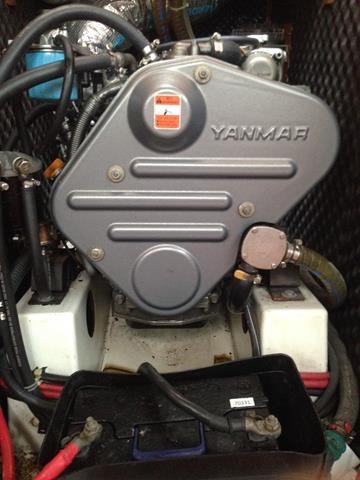 Beneteau Oceanis 43 Engine