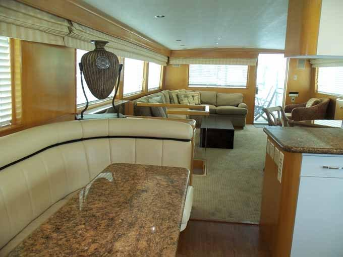 Galley Dinette Looking Aft