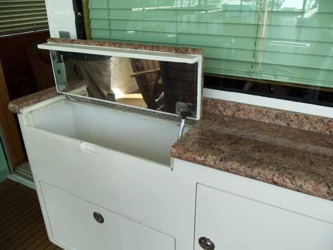 Aft Deck Liquor Cabinet