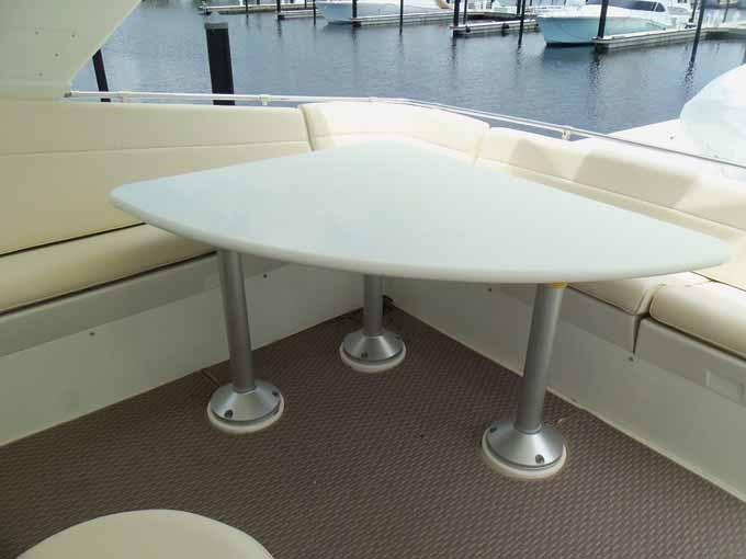 Starboard Side Flybridge Table