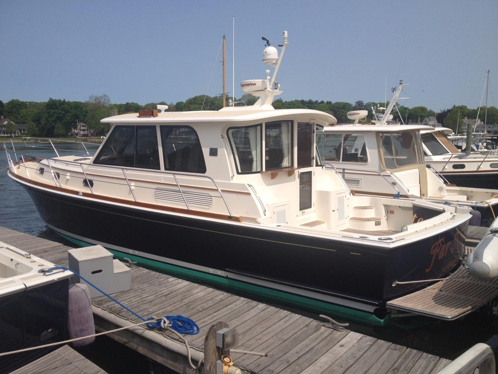 Used grand banks yachts for sale from 35 to 45 feet for Grand banks motor yachts for sale
