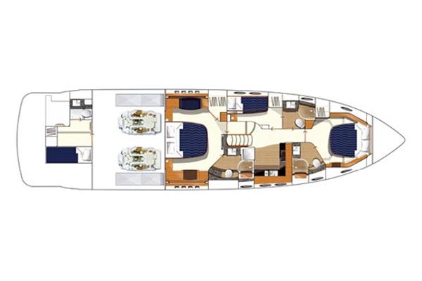 Manufacturer Provided Image: Upper Deck Layout