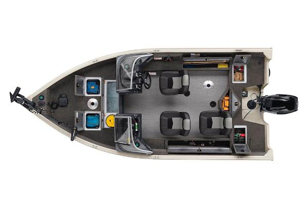 2020 Tracker Boats boat for sale, model of the boat is Pro Guide V-16 WT & Image # 12 of 52