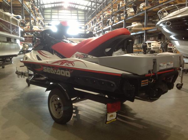 2008 Sea Doo PWC boat for sale, model of the boat is Wake 215 w/ballast & trailer & Image # 6 of 13
