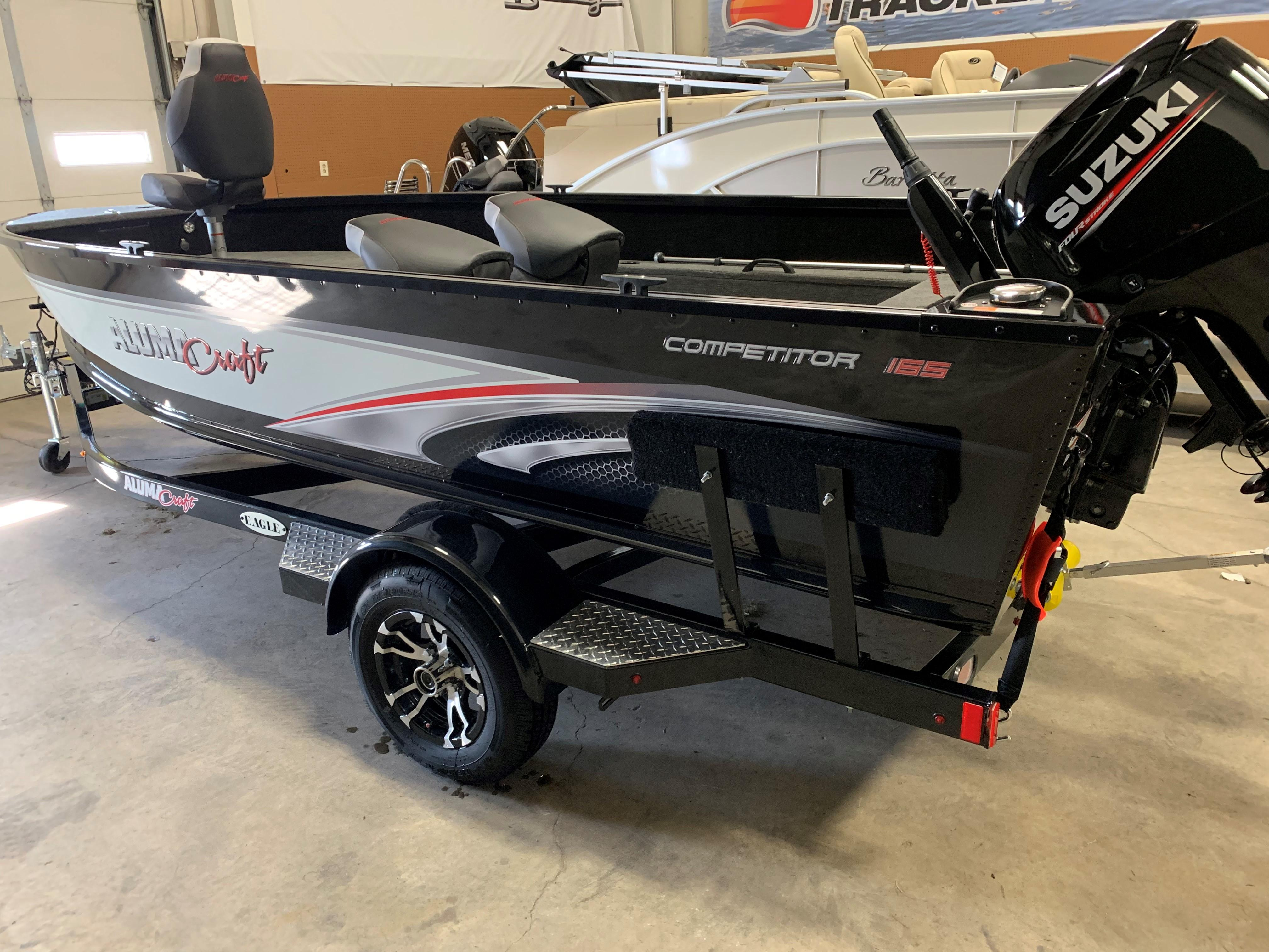 2019 Alumacraft Competitor 165 Tiller ST  CLOUD, Minnesota - Westres