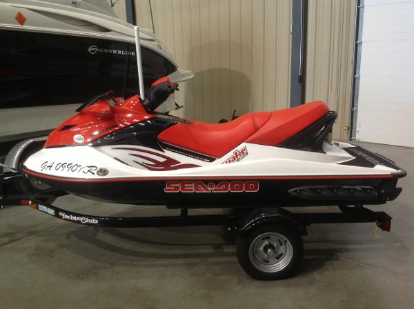 2007 Sea Doo PWC boat for sale, model of the boat is Wake 215 w/trailer - SOLD & Image # 2 of 14