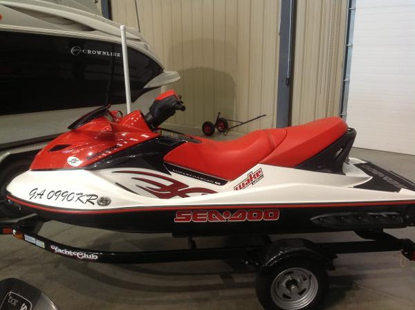 2007 Sea Doo PWC boat for sale, model of the boat is Wake 215 w/trailer - SOLD & Image # 6 of 14