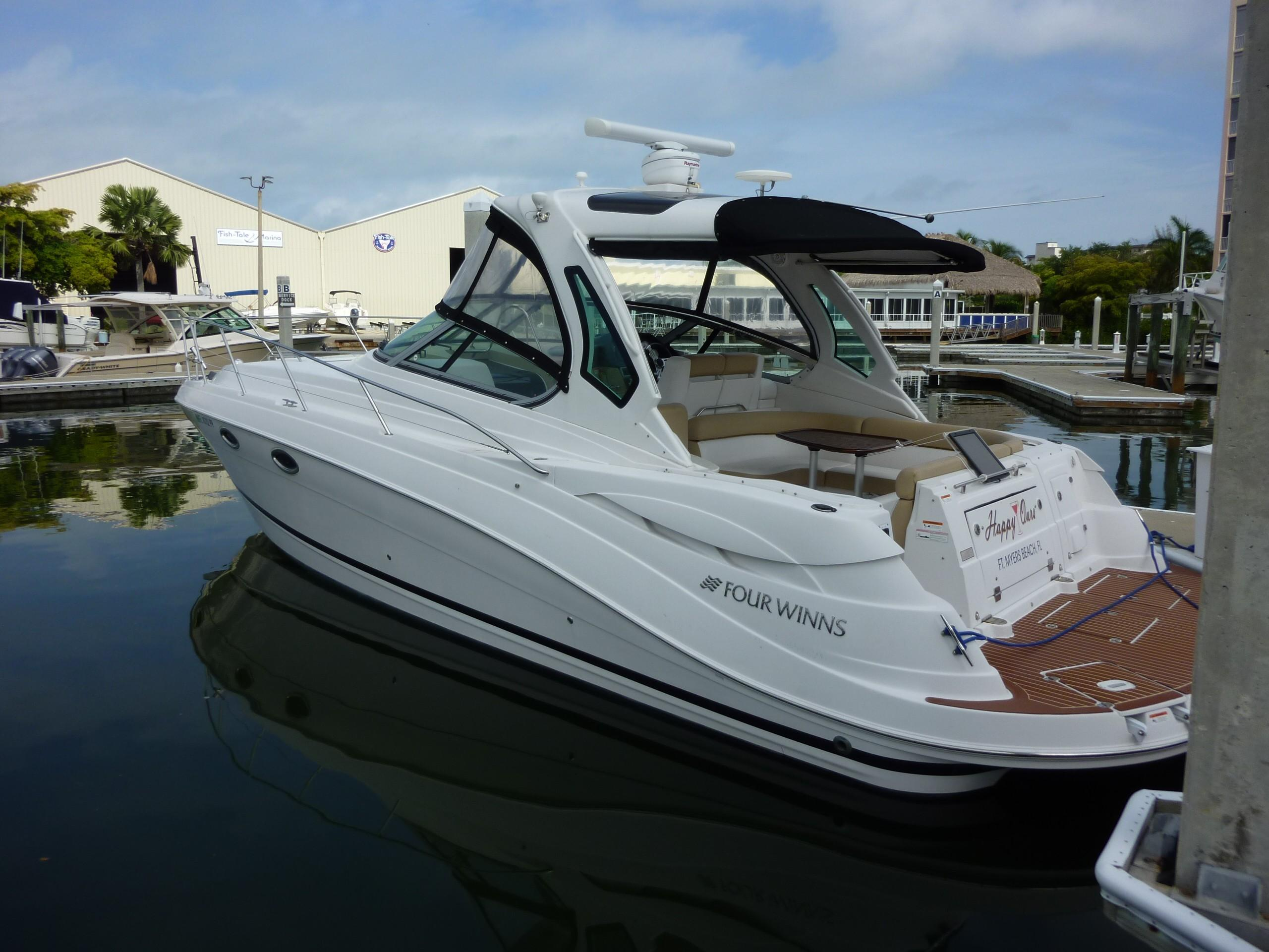 37 Four Winns Happy Ours 2011 Fort Myers Beach Denison Yacht Sales