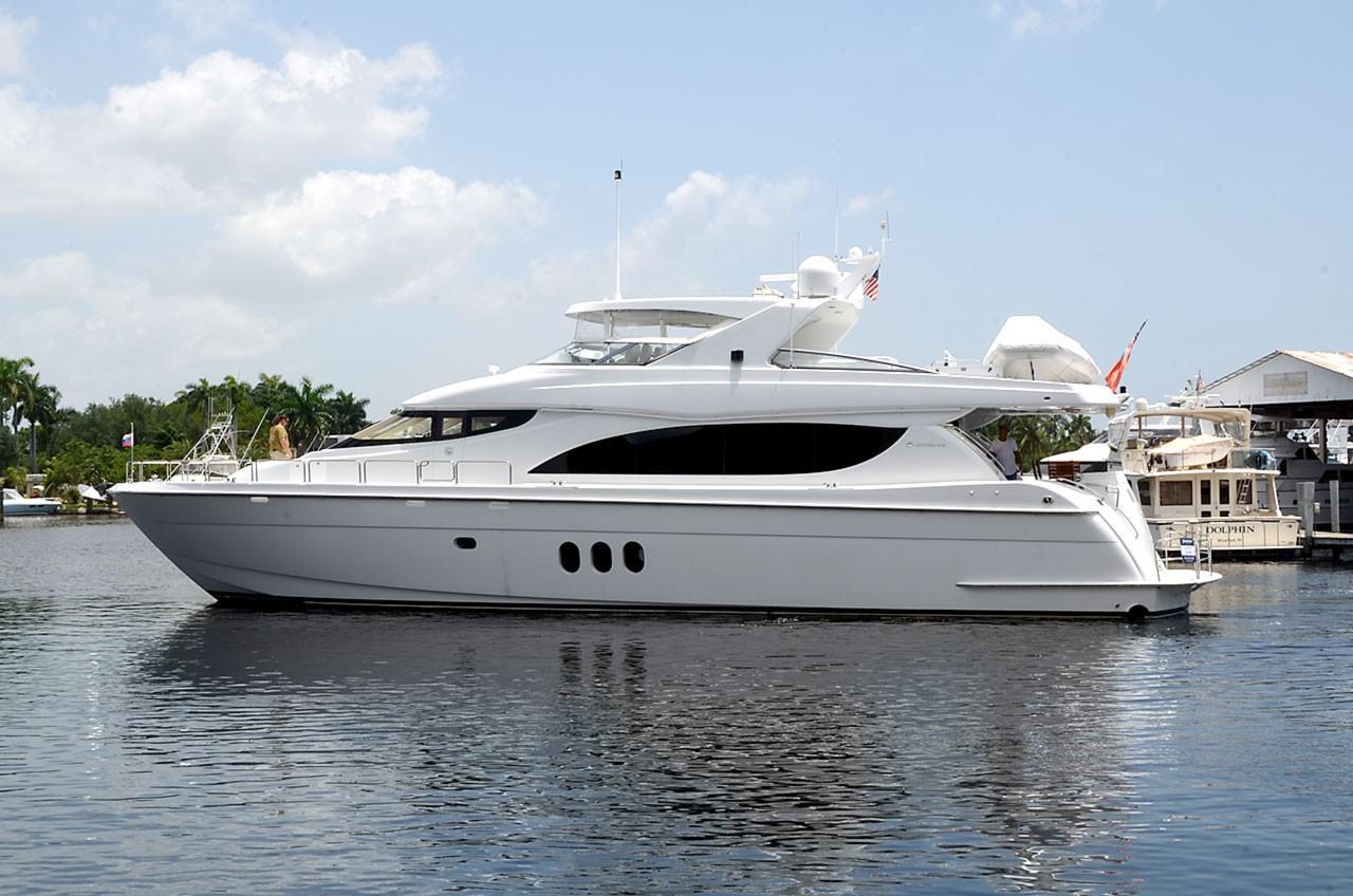 80 ft Hatteras Motor Yacht