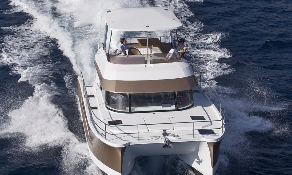 Manufacturer Provided Image: Fountaine Pajot MY 37 Bow
