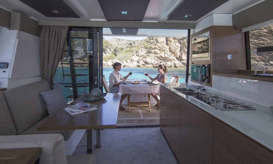 Manufacturer Provided Image: Fountaine Pajot MY 37 Cockpit