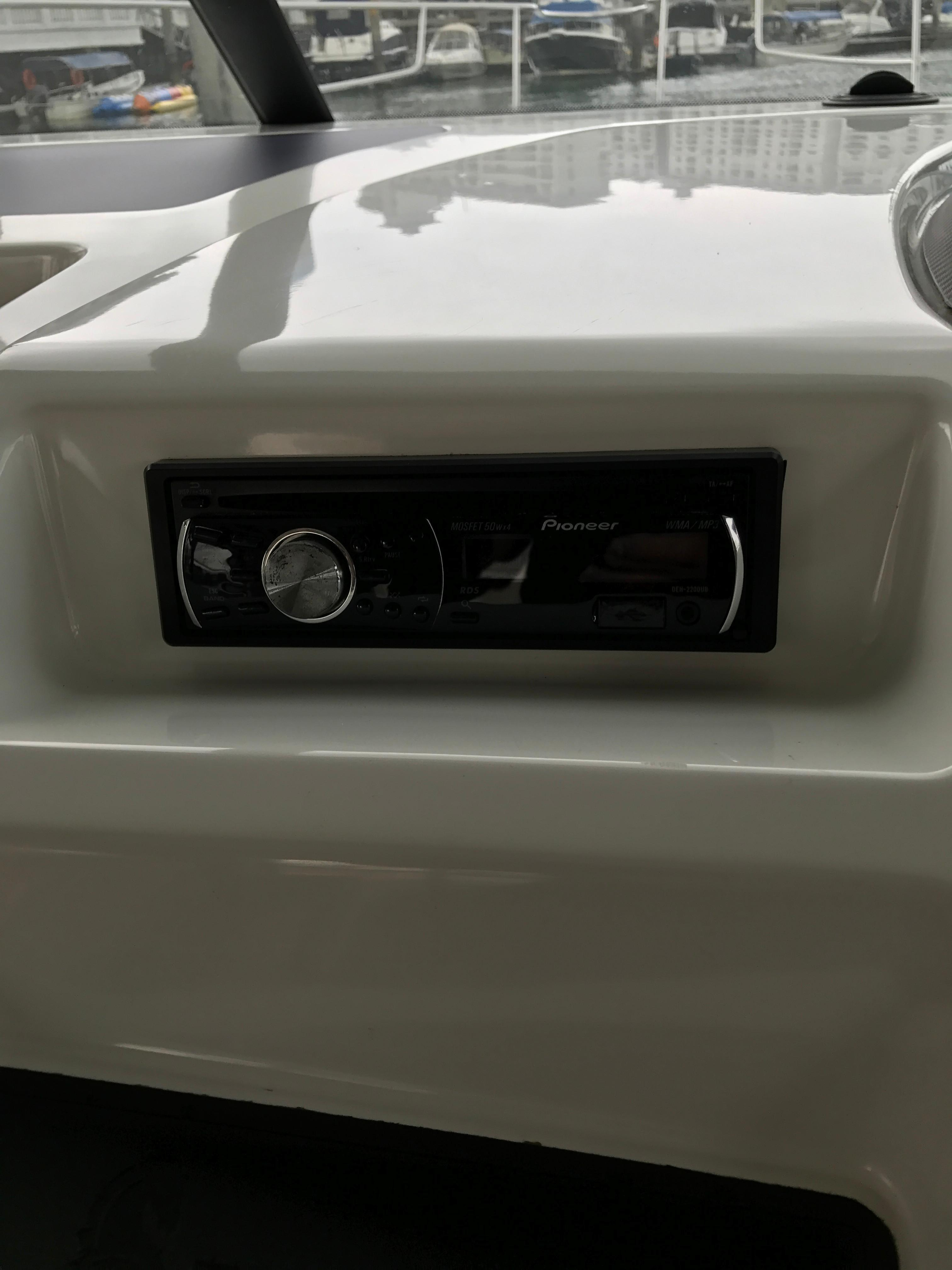 Antares 42 Stereo Audio System