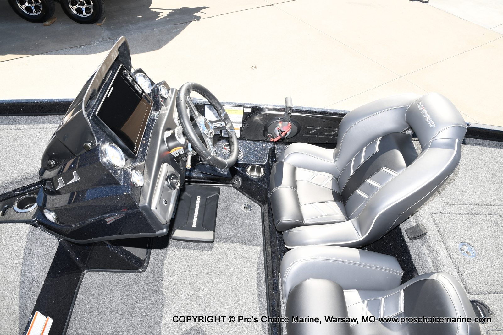 2021 Nitro boat for sale, model of the boat is Z21 Pro Package & Image # 22 of 50