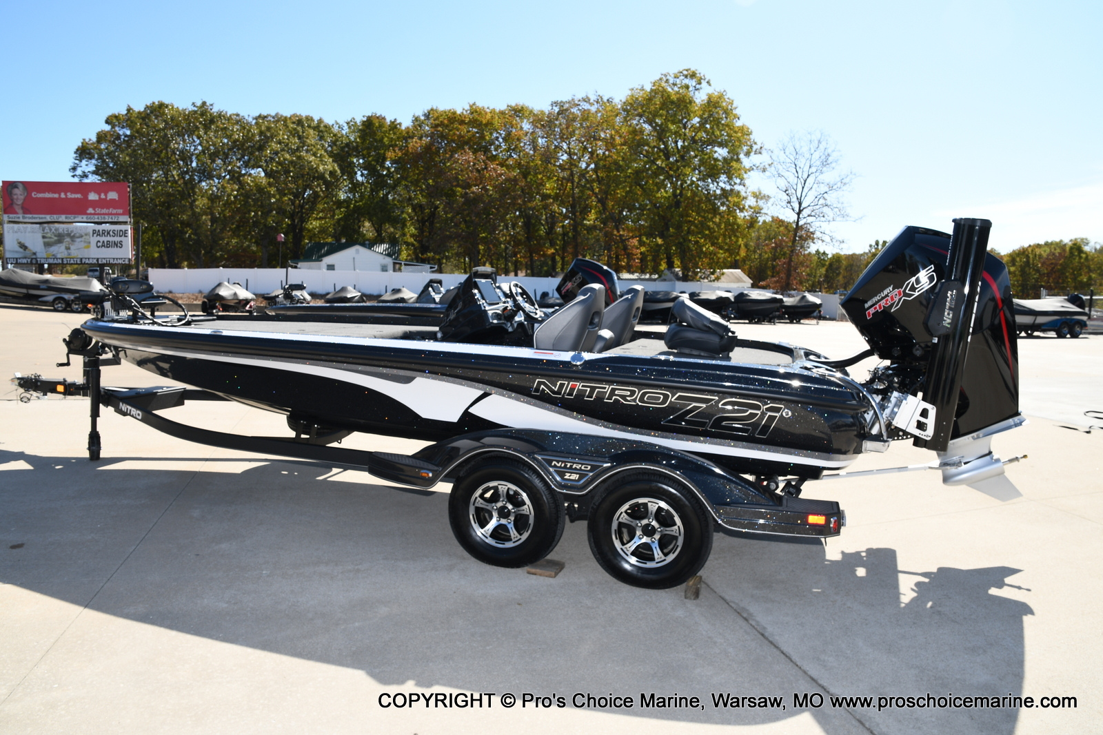 2021 Nitro boat for sale, model of the boat is Z21 Pro Package & Image # 5 of 50