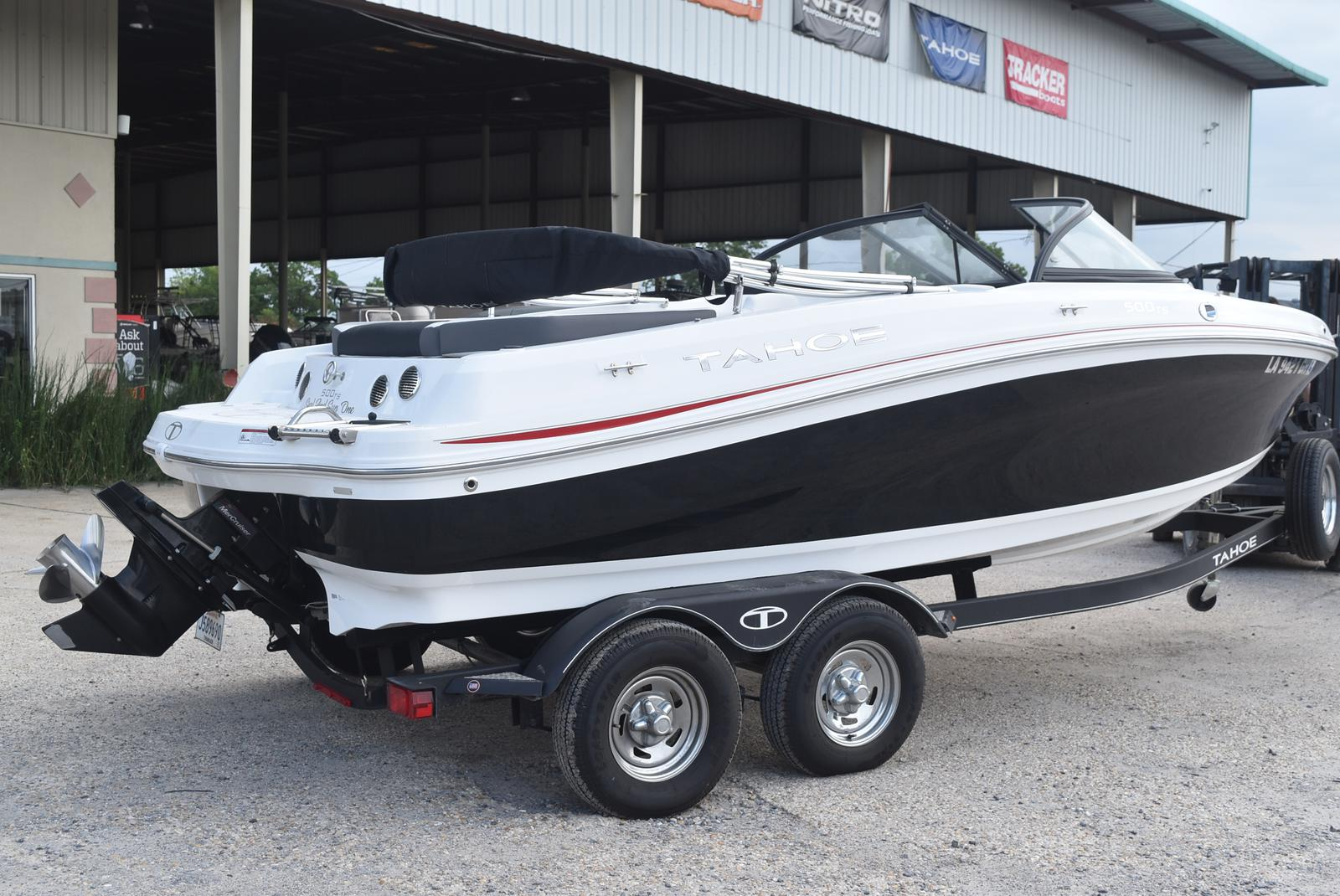 2018 Tahoe boat for sale, model of the boat is 500 TS & Image # 2 of 24