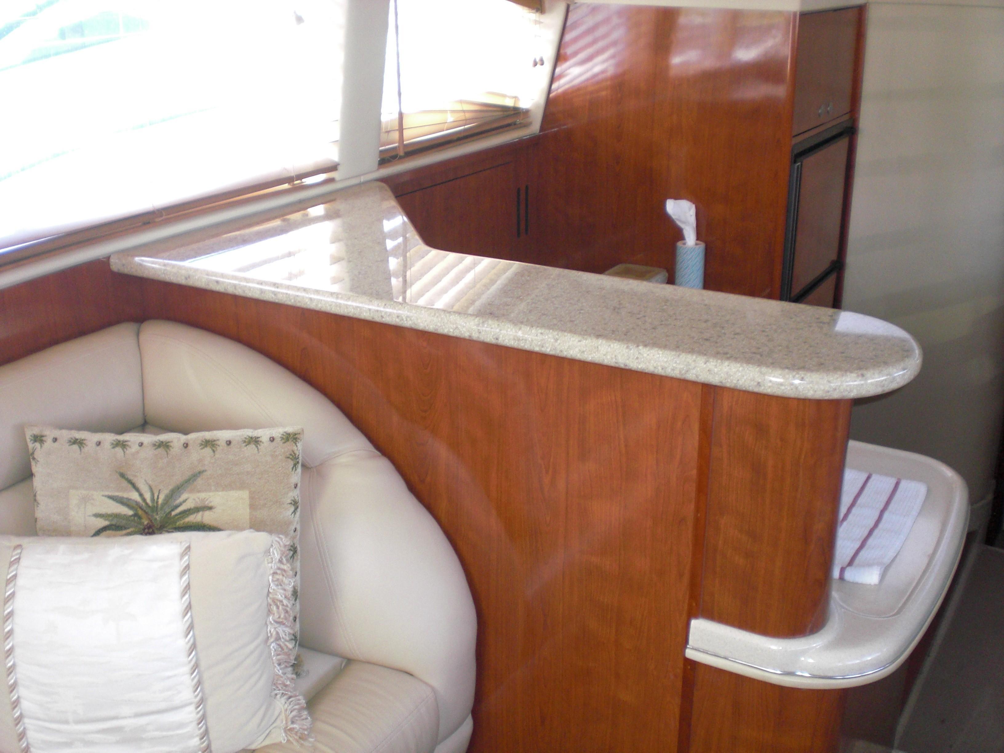 Sea Ray 480 Motor Yacht - Corian Countertops