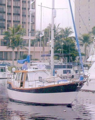 33' Nauticat 1995 Pilothouse Ketch