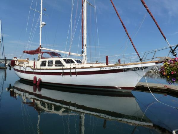Skookum 53' Center Cockpit Motorsailor
