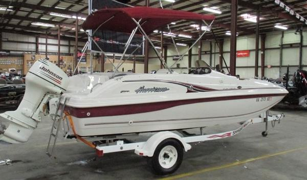 2003 HURRICANE FUN DECK GS 188 for sale