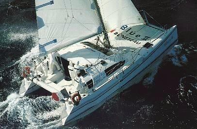 36' Beneteau 1989 Catamaran Type Blue 2