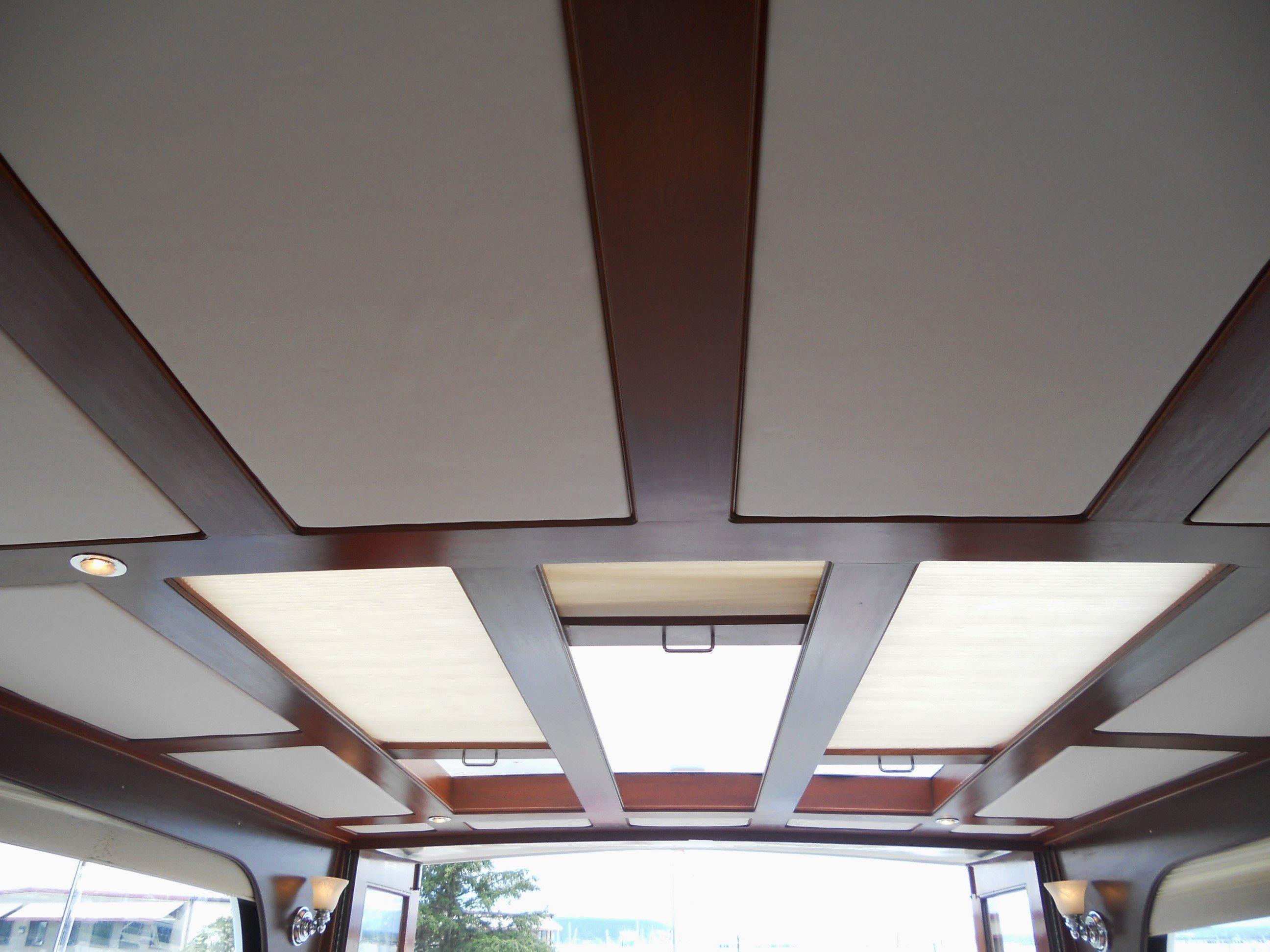 Custom headliner, lighting & skylights
