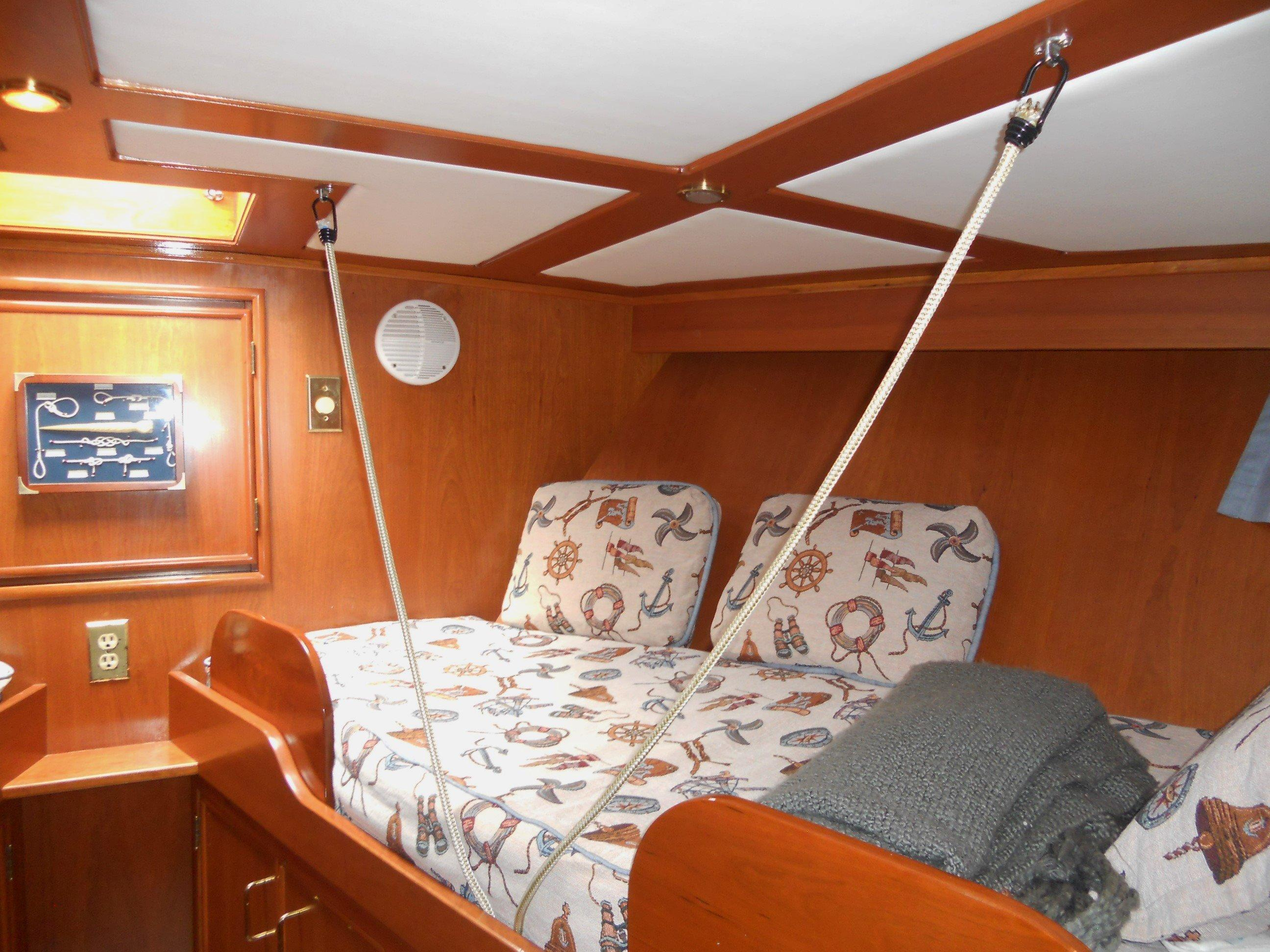 Guest stateroom to starboard