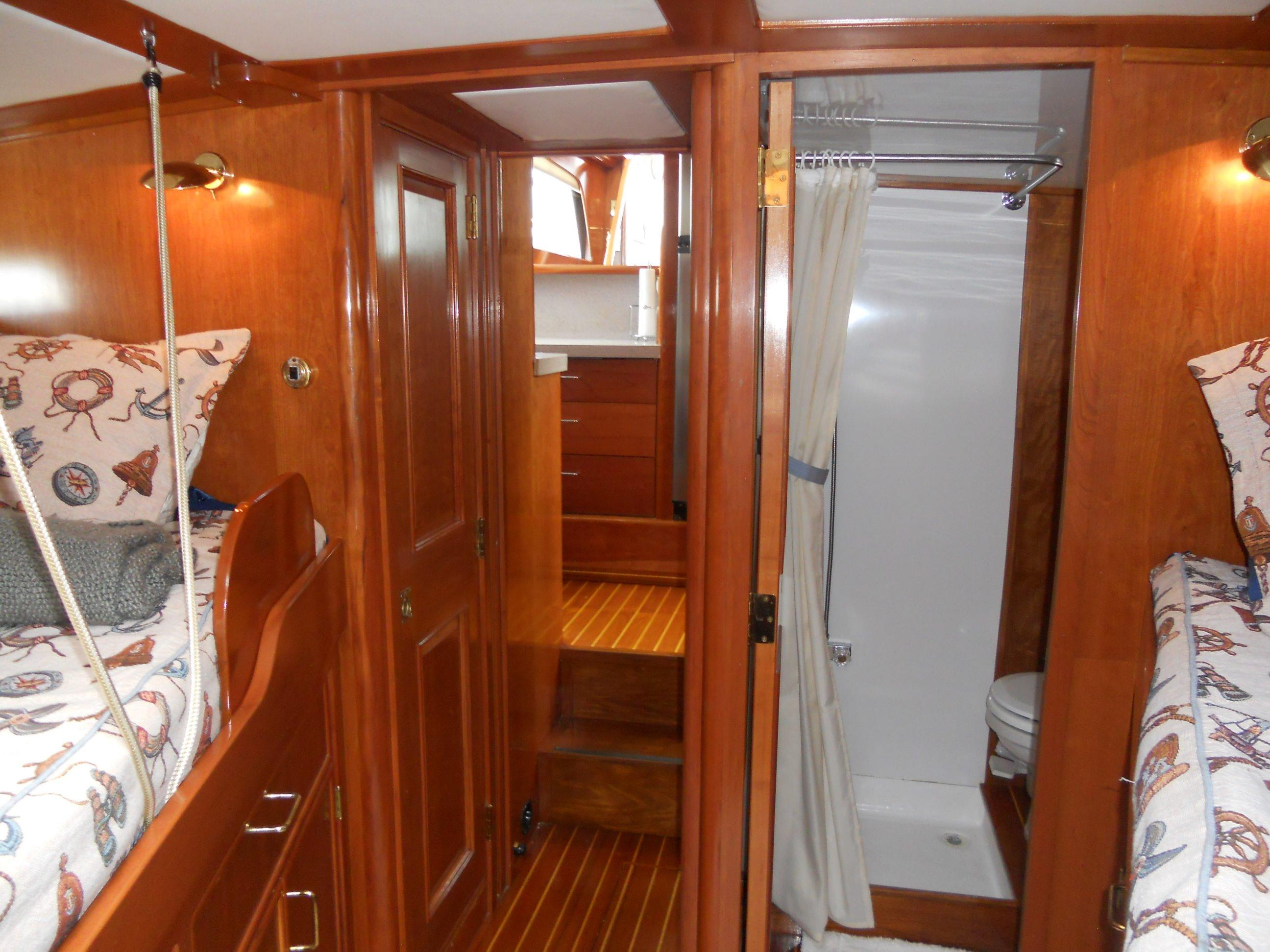 Guest stateroom looking aft