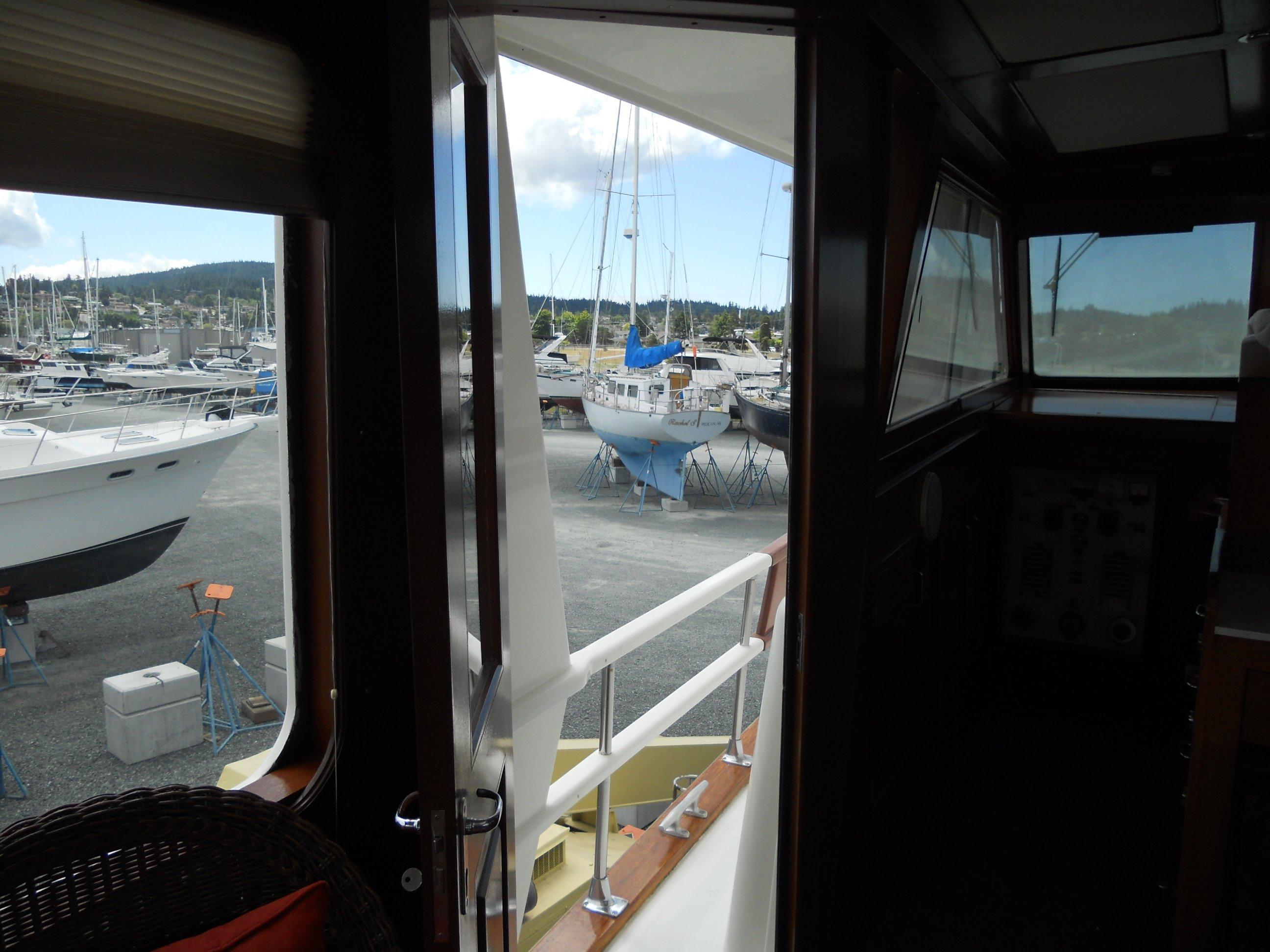 Side deck access