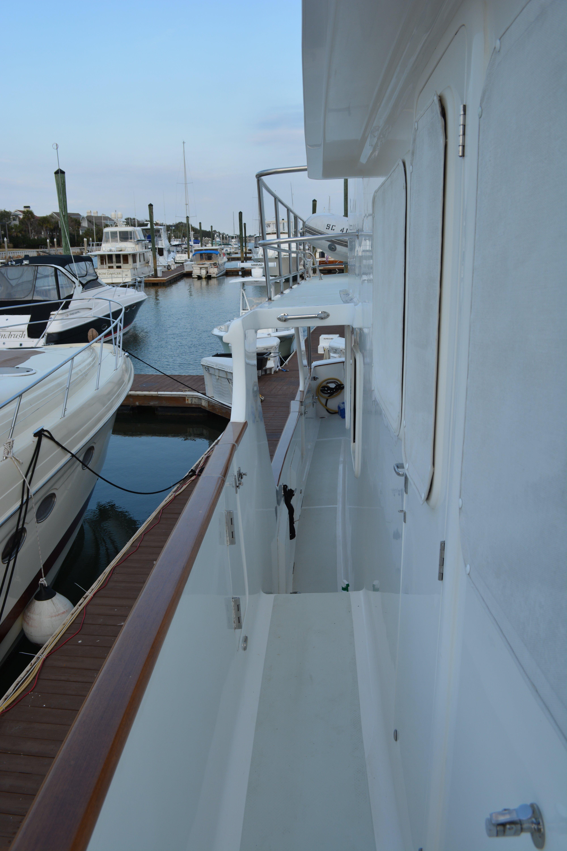 Starboard Side Deck Looking Aft