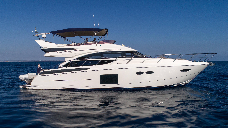 Used Princess 56 For Sale   Princess Motor Yacht Sales