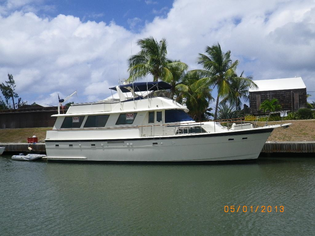61 hatteras 1981 reality check i for sale in st croix vi for Large motor yachts for sale