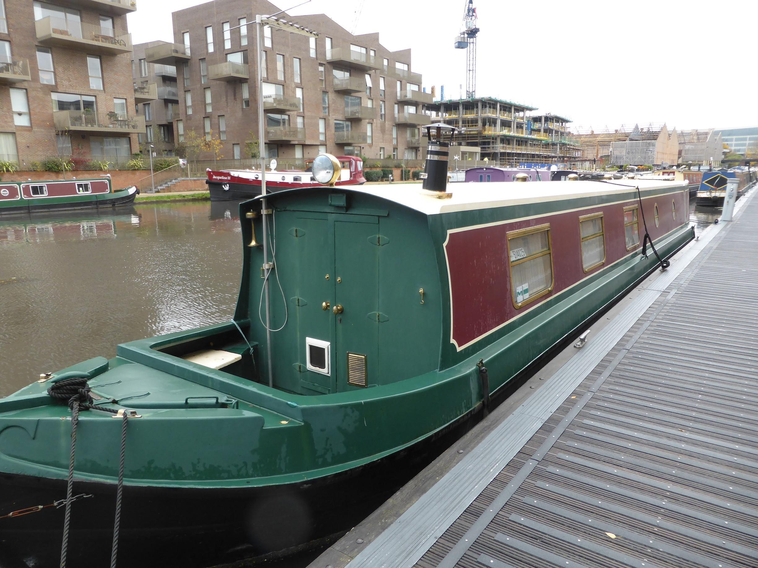 Narrowboat - Liverpool Boats 52 Trad by Paul Williams