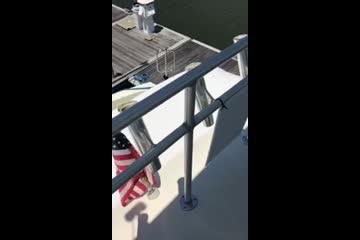 Hatteras 45 Convertible video