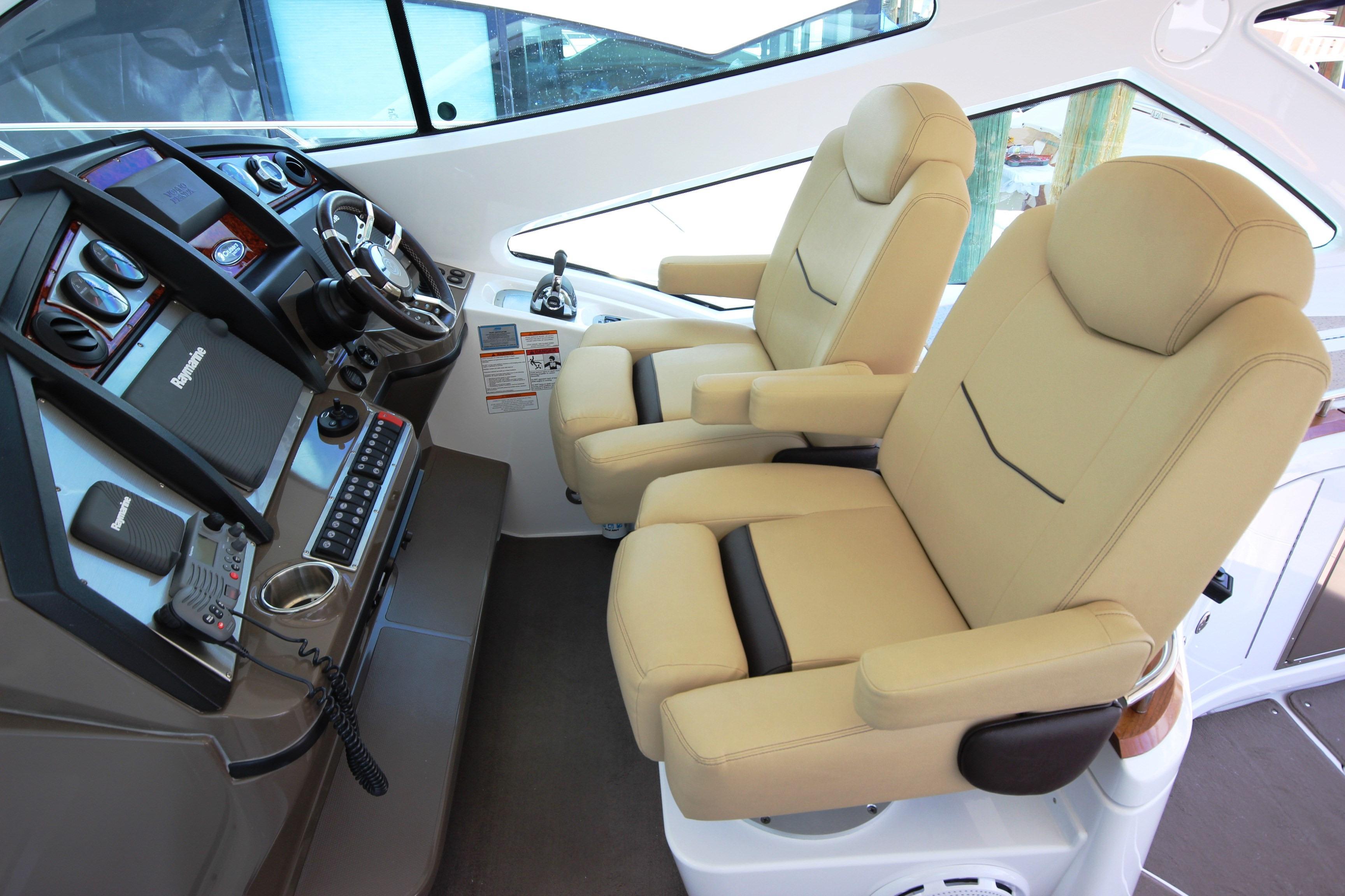 Electrically Adjustable Helm Seats