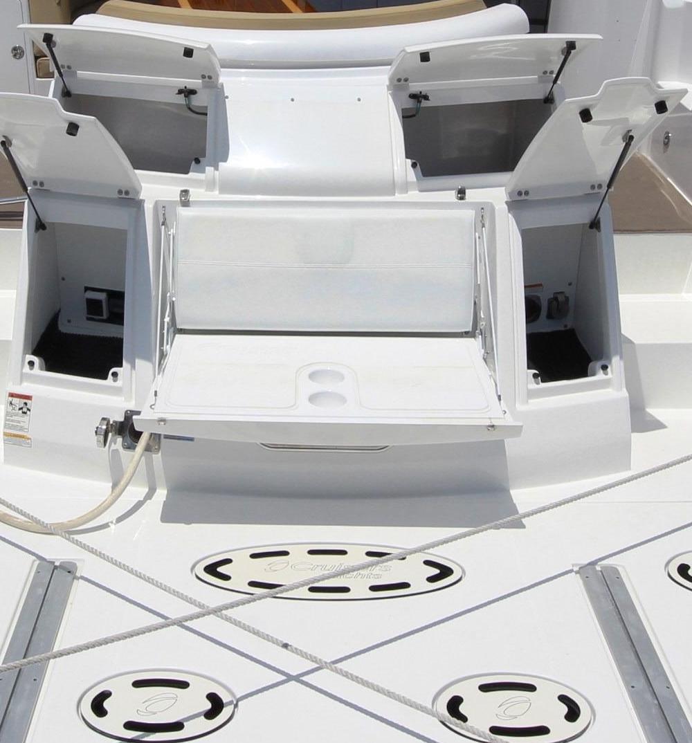 Aft Rumble Seat & Storage Areas