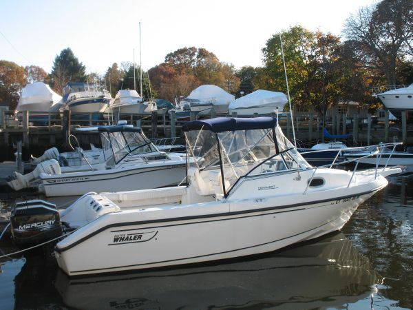 Boston Whaler 23 Conquest Saltwater Fishing Listing Number: M-1088848