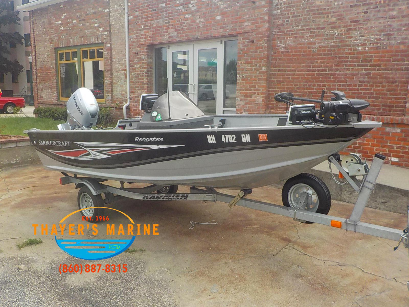 2013 SMOKER CRAFT 151 for sale