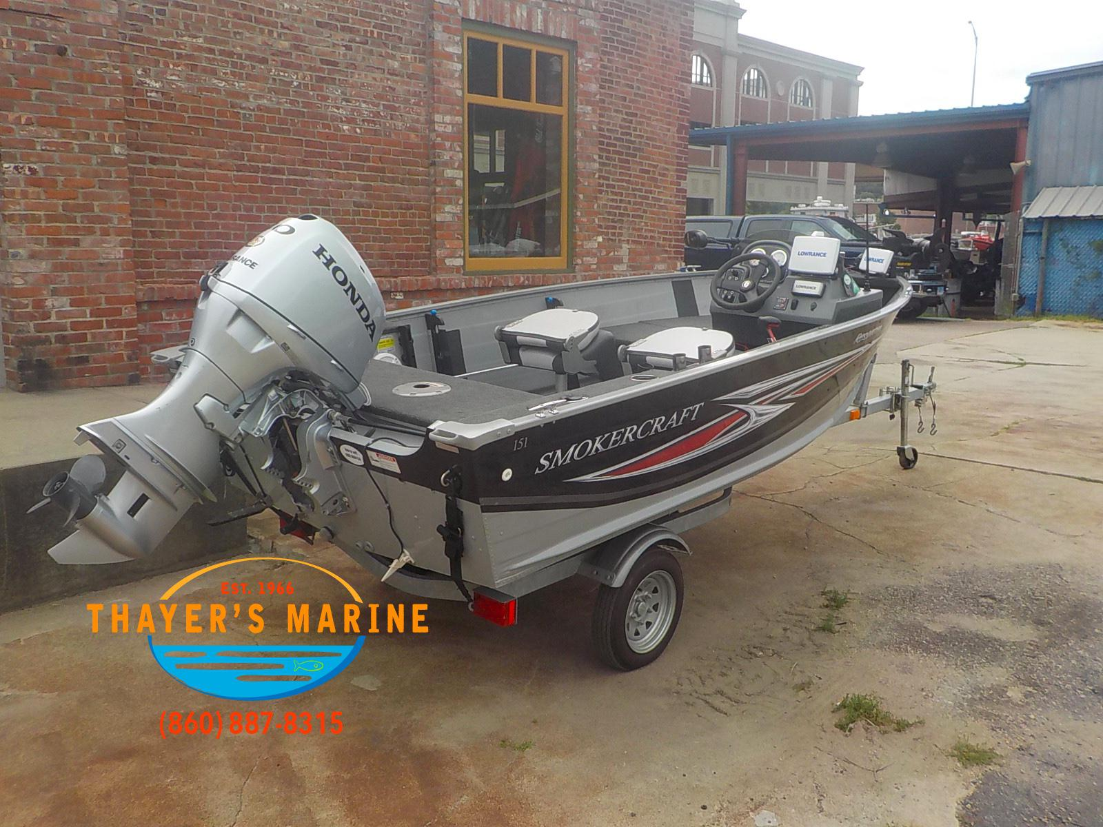 2013 Smoker Craft boat for sale, model of the boat is 151 & Image # 17 of 24