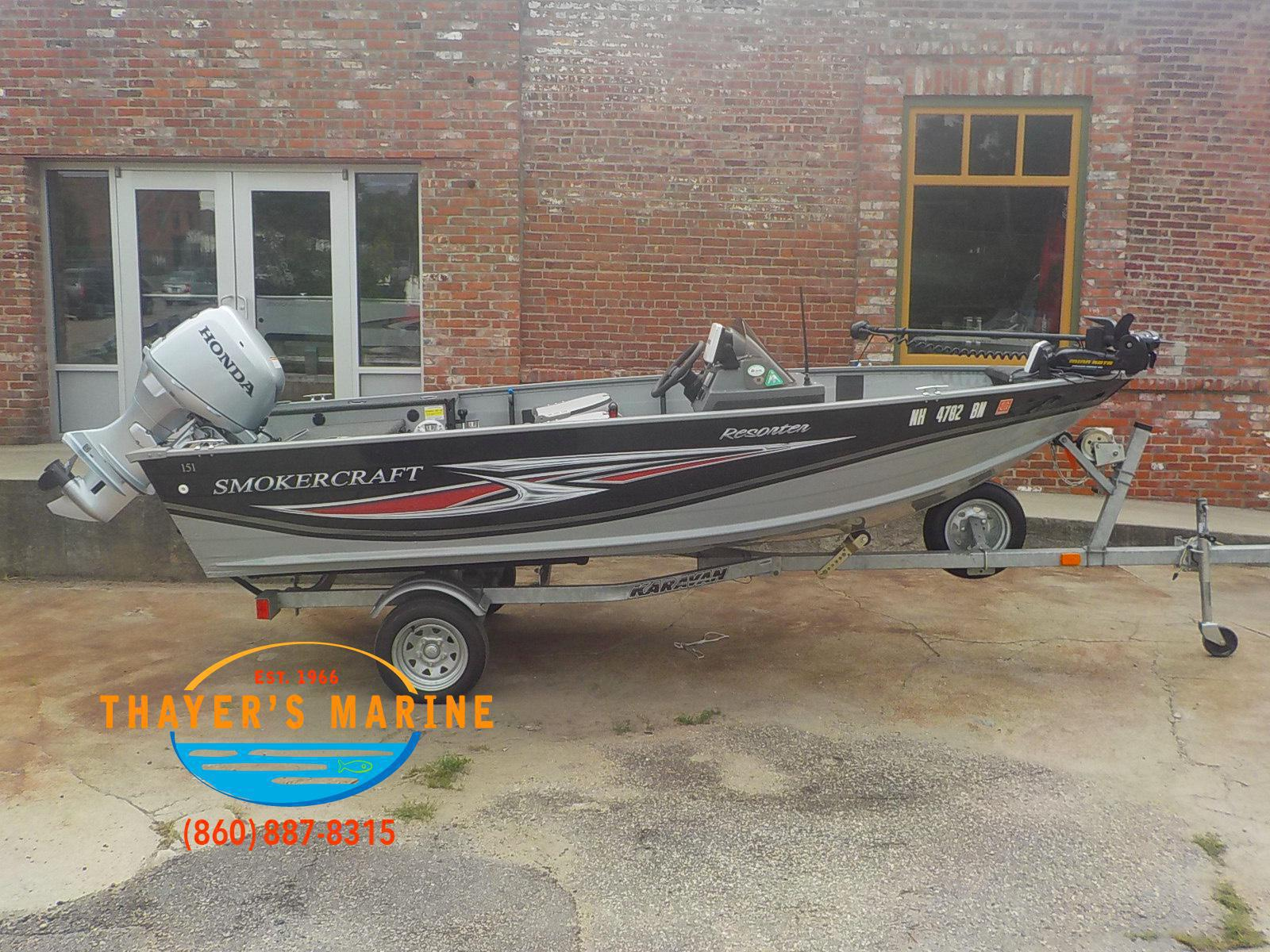 2013 Smoker Craft boat for sale, model of the boat is 151 & Image # 22 of 24