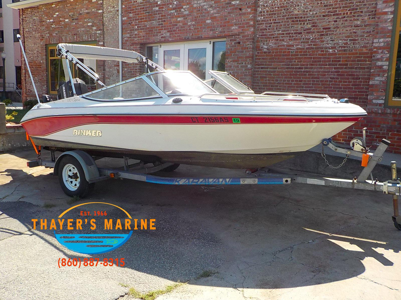 1993 RINKER 170 CAPTIVA for sale