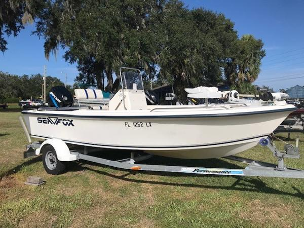2002 SEA FOX 172 CENTER CONSOLE for sale