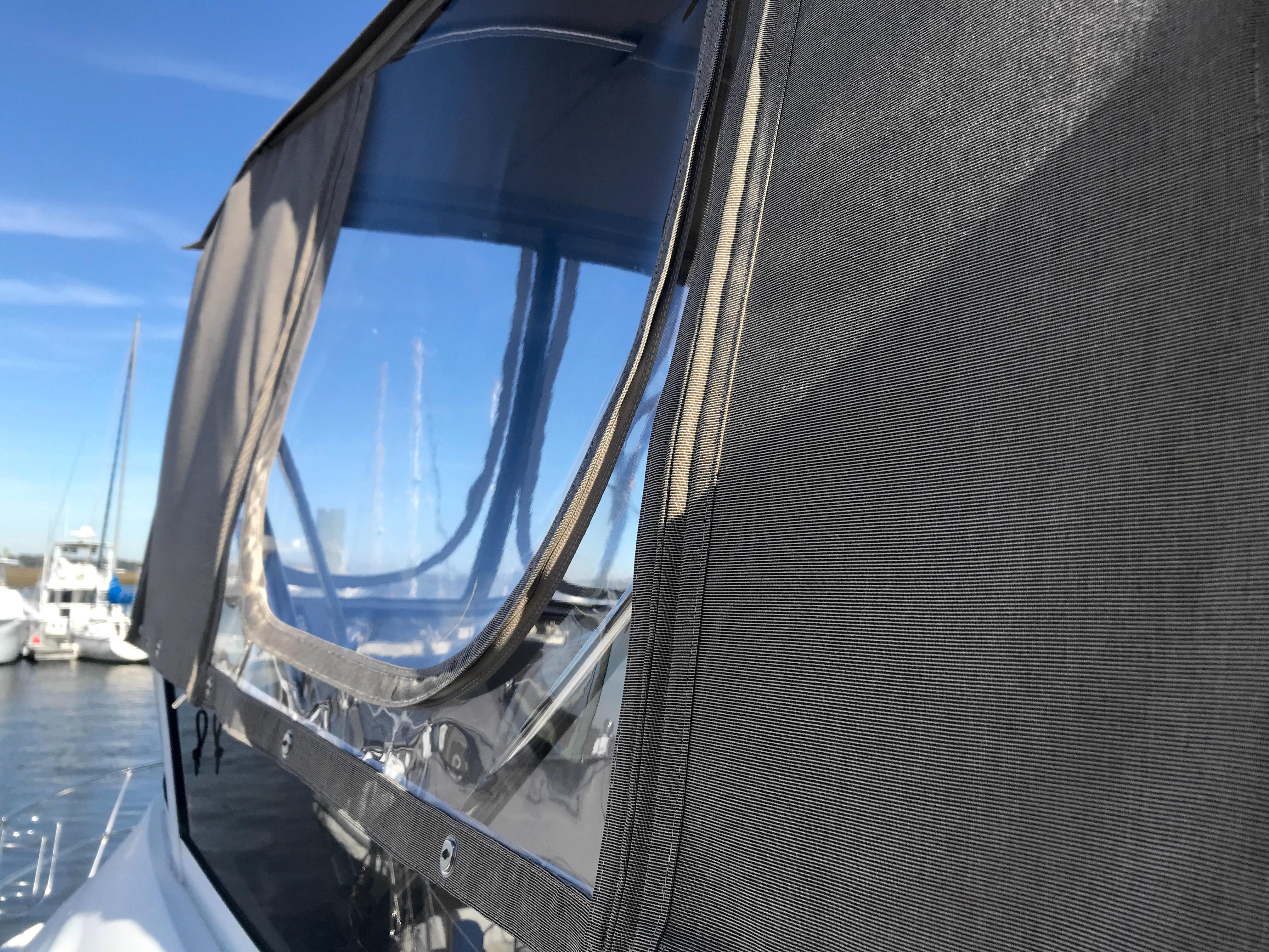 Sea Ray 370 Aft Cabin - new canvas and isinglass