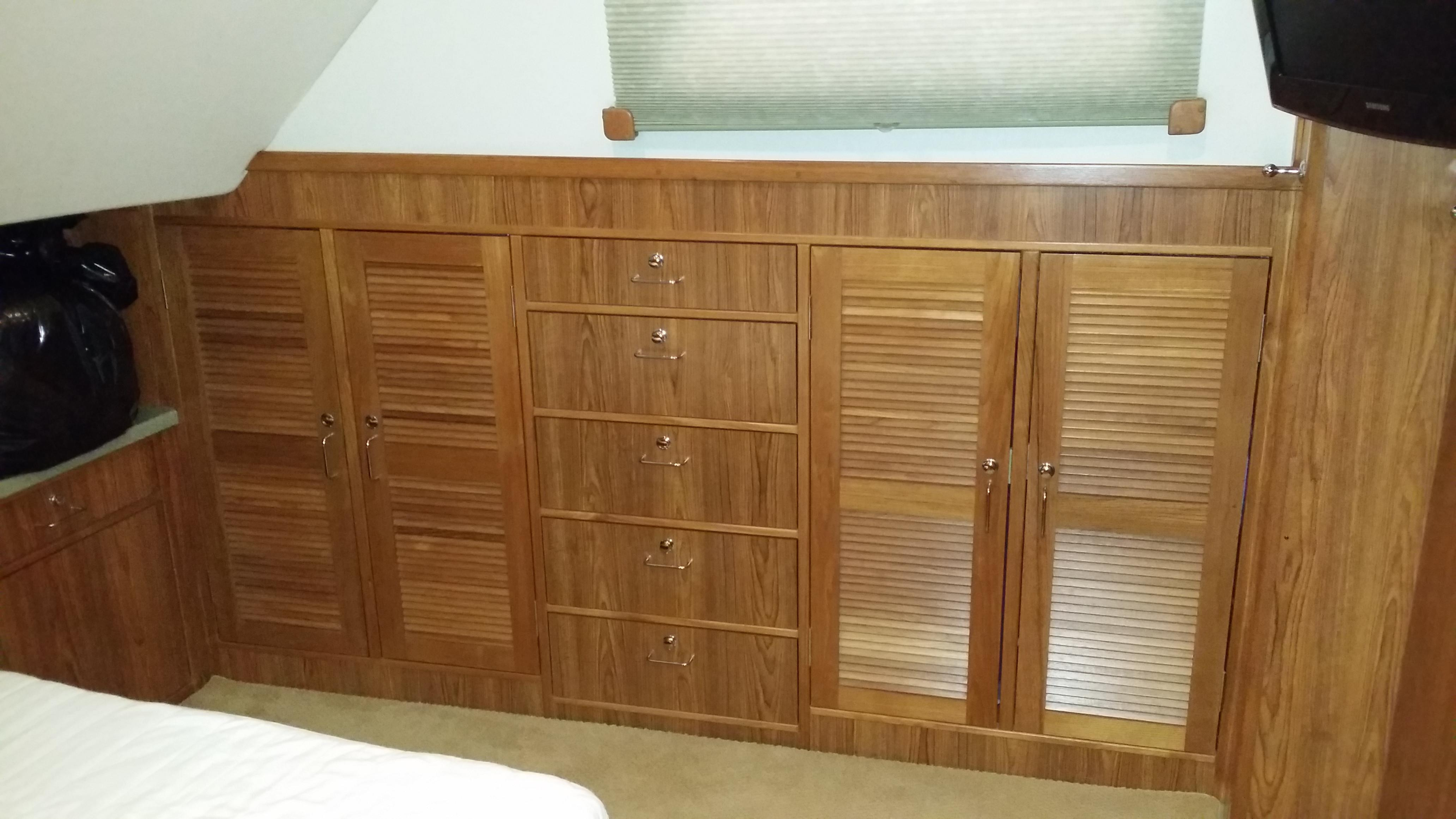 Master Cabinetry to Starboard