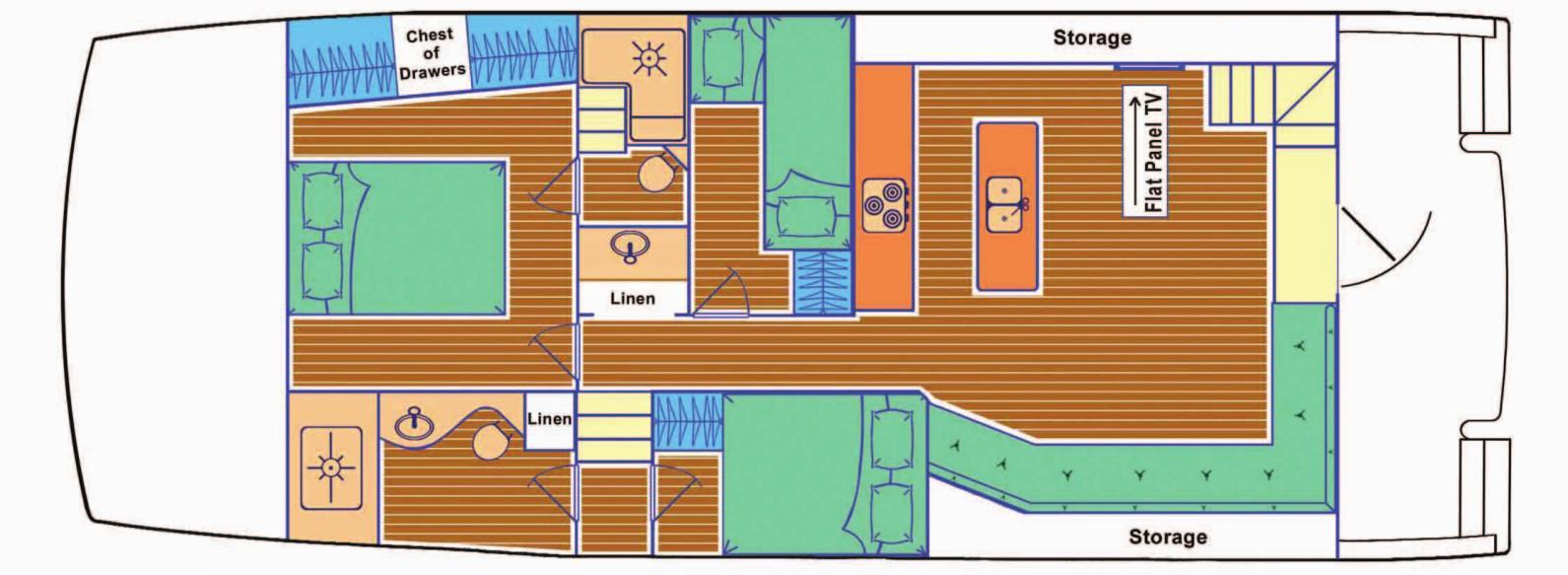 Main Deck Layout