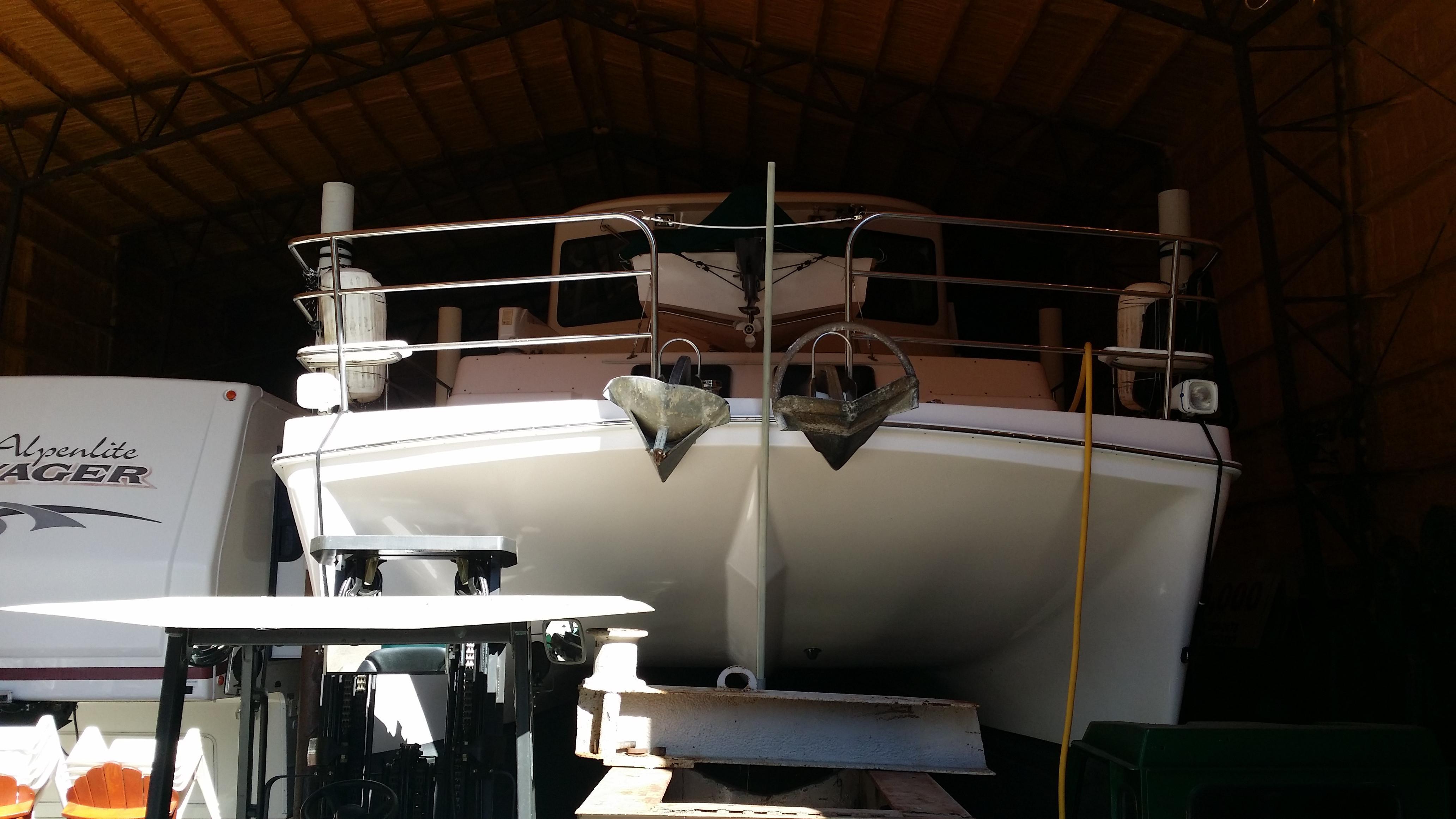 Cozy Winter Yacht Storage (Land & Sea)