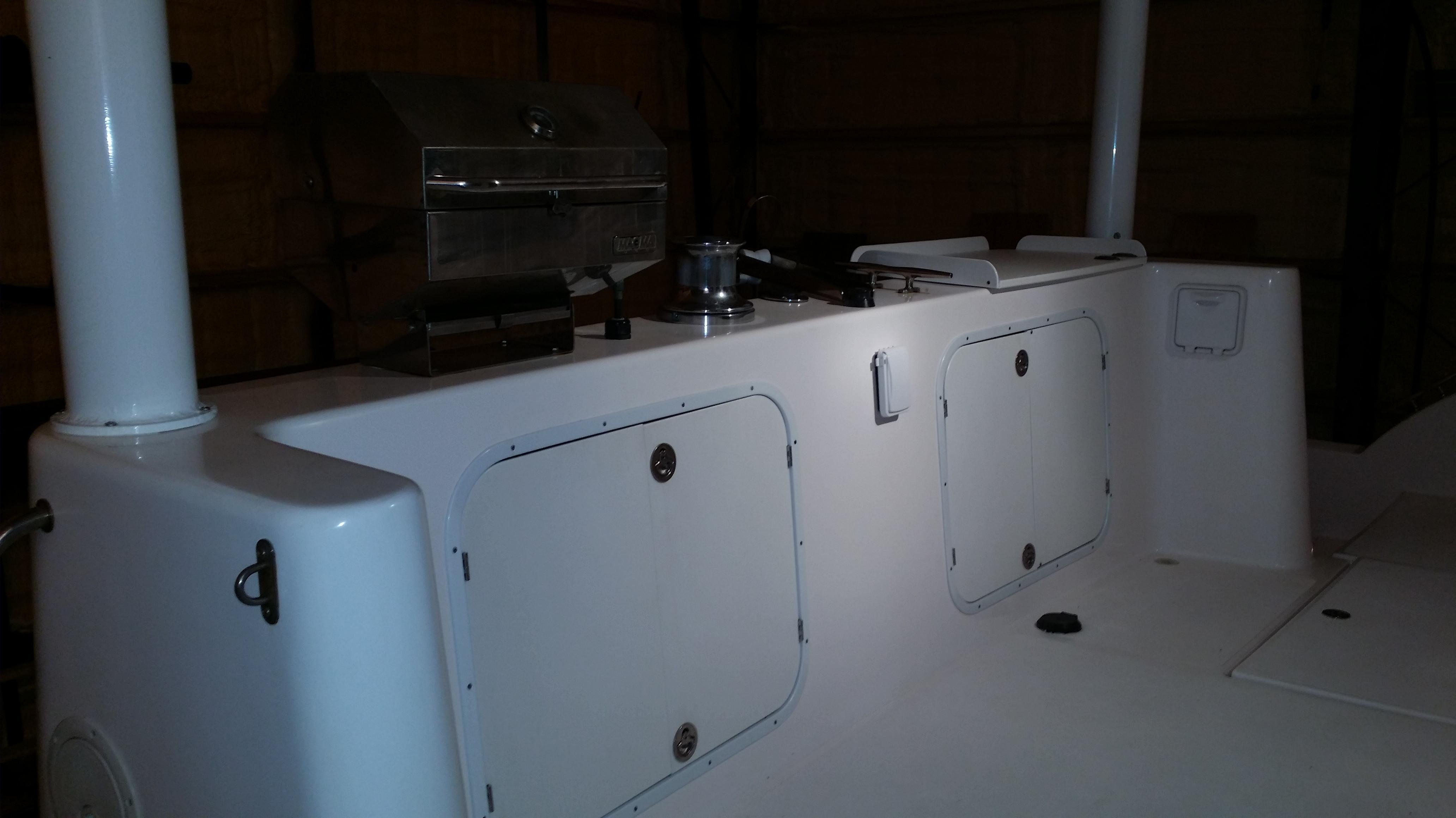 Transom Storage & Equipment
