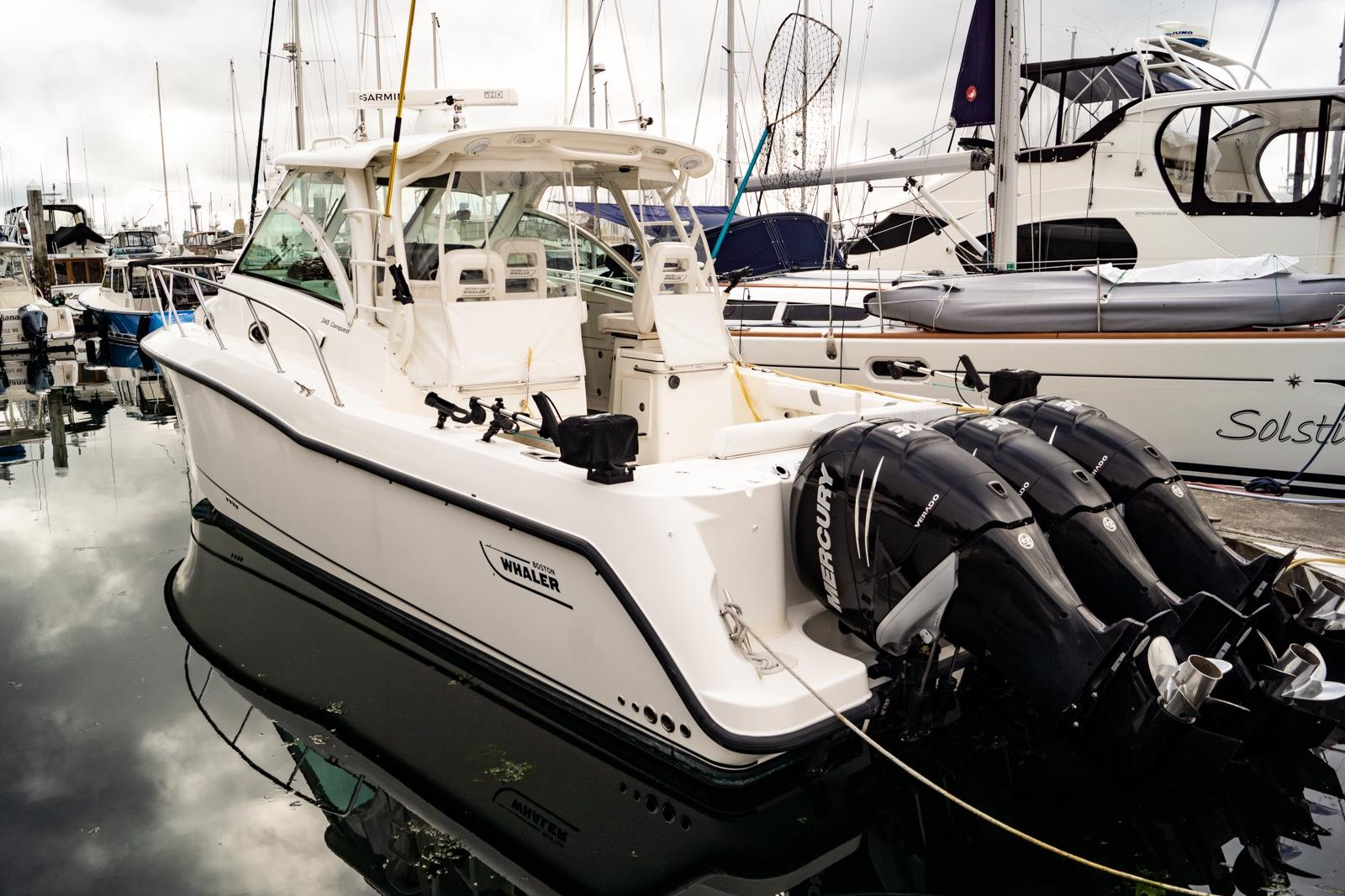Picture Of:  35' Boston Whaler 345 Conquest 2013Yacht For Sale | 57