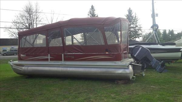 2011 Berkshire Pontoons boat for sale, model of the boat is ltd series 220 cl & Image # 3 of 12